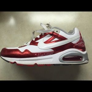 Nike Shoes - NIKE METALLIC RED ❤️ air max shoes!!