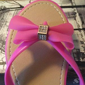 718bcc7fe Aloha Island Shoes - NEW  Aloha Island Pink Sandals w Bling