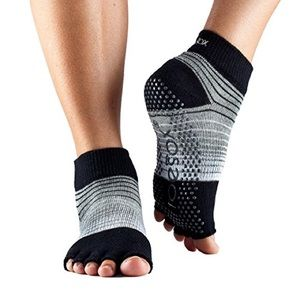 Toesox Half-Toe Ankle Static with Non-Slip Grip