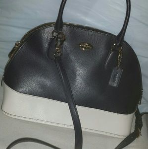 Authentic Coach Mini Cora Crossbody Dome Satchel