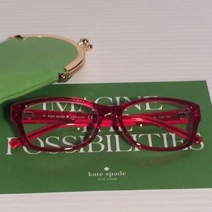 Price Drop!❤️Kate Spade Reading Glasses +1.50