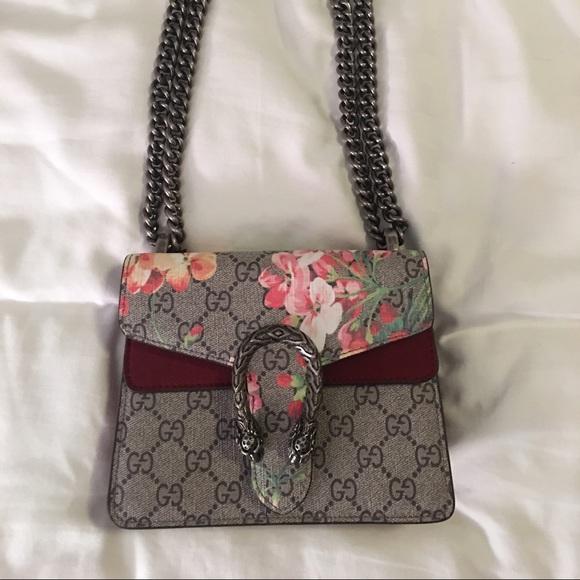 e14ab70a27ae Gucci Handbags - Gucci Dionysus Blooms Mini Shoulder Bag