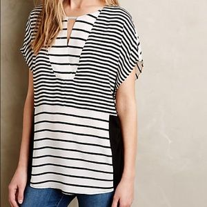 Anthropologie Madrigal Stripe Top