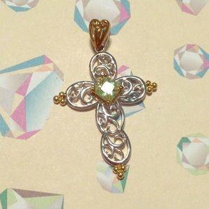 Jewelry - Silver cross pendant