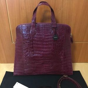 Nancy gonzalez burgundy bag_SOLD