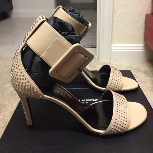 Saint Laurent Shoes - Saint Laurent studded heels