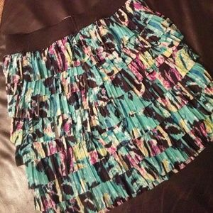Splatter type design skirt