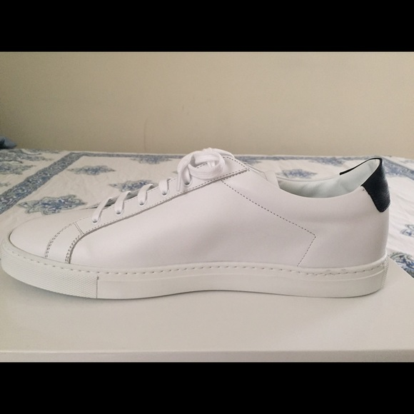 6 off common projects shoes common projects achilles low navy white from alexandra 39 s closet. Black Bedroom Furniture Sets. Home Design Ideas