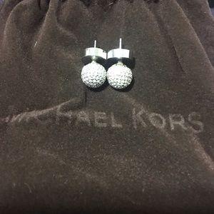 Michael Kors studded earrings