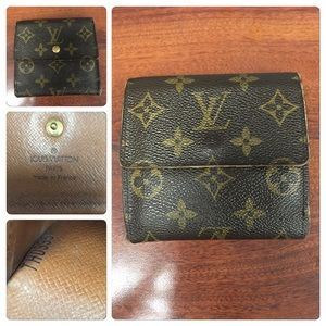 Vintage Authentic Louis Vuitton Wallet