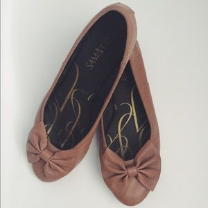 Shoes - Brown Bow Flats