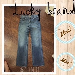 lucky brand classic rider jeans women size 6 or 28