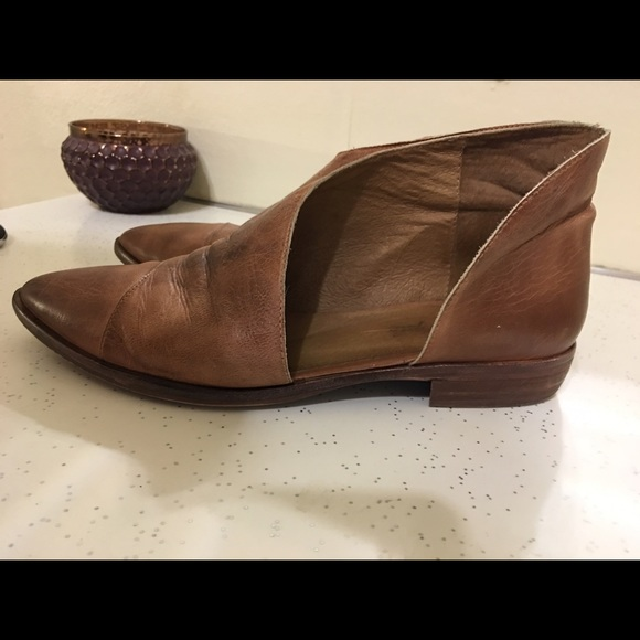 Gens Libres Chaussures Plates Royale - Marron KyGoKwN8A