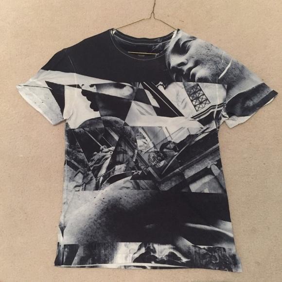 Zara Shirts | Man Tshirt | Poshmark