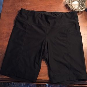 Xersion fitted workout shorts
