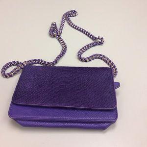Aimee Kestenberg Handbags - Purple leather cross body