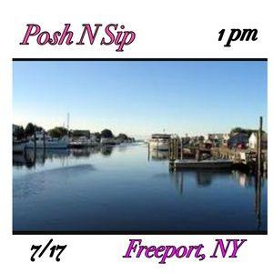Posh N Sip 7/17 Freeport NY
