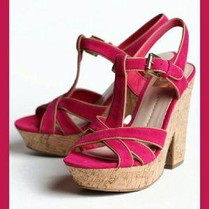 DV by Dolce Vita Shoes - DV Dolce Vita platform sandals pink