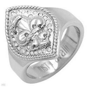 Just Cavalli Ring Size 7