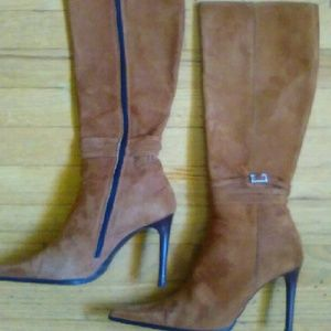 Valentino Shoes - Valentino tall brown leather Stiletto Boots