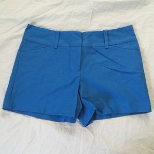 Ann Taylor Pants - NWT Ann Taylor blue shorts