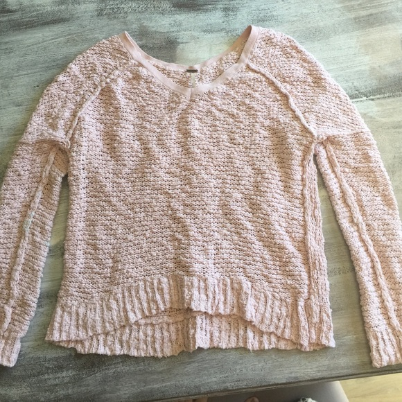 69% off Free People Sweaters - Free people chunky sweater light ...