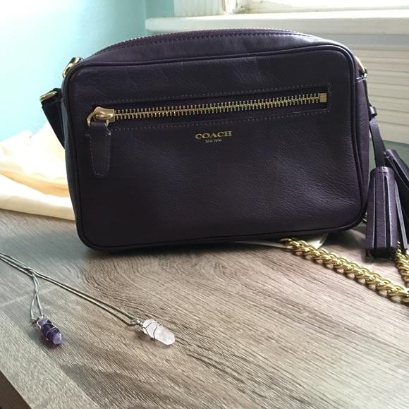 416d0592bb Coach Handbags - 🎊HP 7 10🎊Coach Legacy Leather Flight Bag