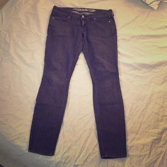 60% off Express Denim - Express black skinny jeans. Size 6 short