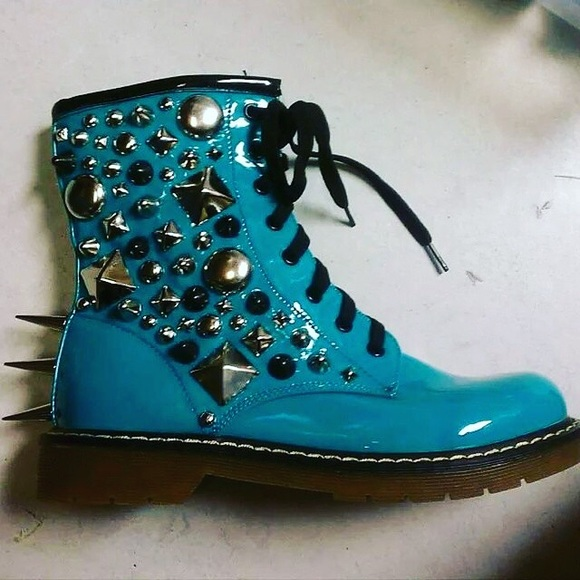 56% off Dr. Martens Shoes - Custom Combat Boots from Katherine's ...