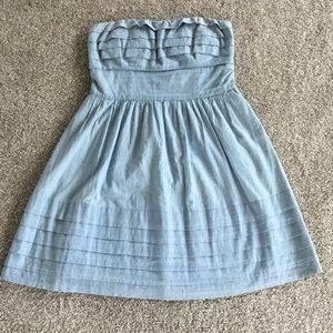 Dresses & Skirts - Jack strapless chambray dress