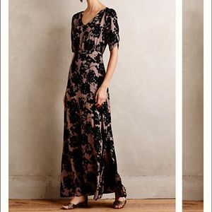 Paper Crown Dresses & Skirts - NWT Anthropologie Paper Crown Florette Maxi  6