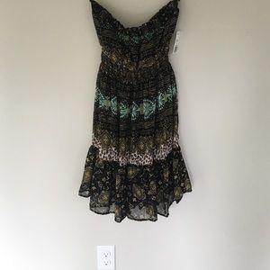 Dresses & Skirts - NWT XX I Strapless Dress multi colors