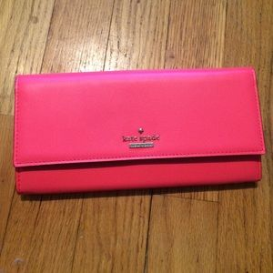 Authentic Kate spade BNWT leather  wallet.