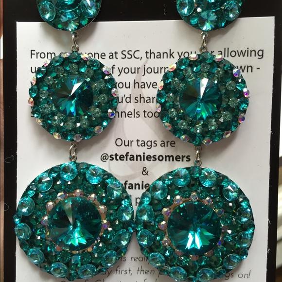 Jewelry Custom Stefanie Somers Earrings Poshmark