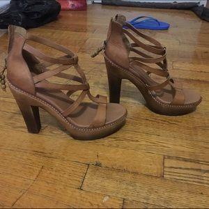 UGG Shoes - Uggs Wooden Heels 10 4.5 heel