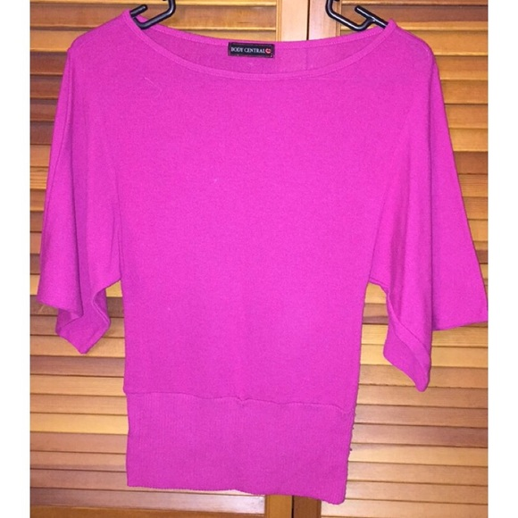 Body Central Sale >> Body Central Tops Final Sale Pink Tee Poshmark
