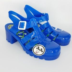 Juju Shoes - Juju royal blue size 5 jellies retail $50