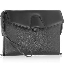 Alexander Wang Handbags - Alexander Wang Lydia clutch stingray NWT