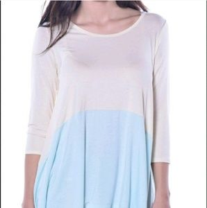 Pastels Clothing Tops - 💥3 Left💥Pastels Sunny Sidetail Tunic