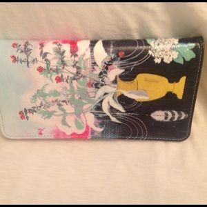 Papaya Picky Bouquet Wallet