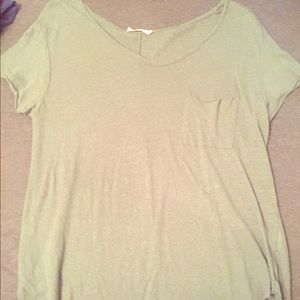 Olive green woman's one size fits all top