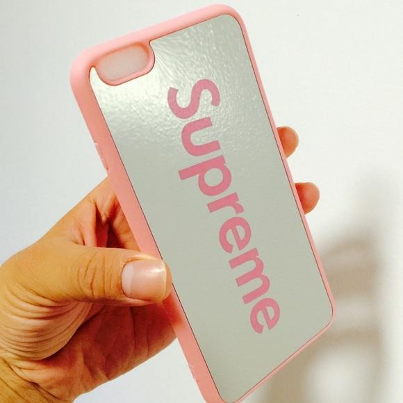pretty nice feecf 46380 Hybrid Supreme mirror case iPhone 6/6s PLUS Boutique