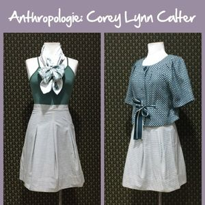 "Anthro ""Trace Paper Skirt"" by Corey Lynn Calter"