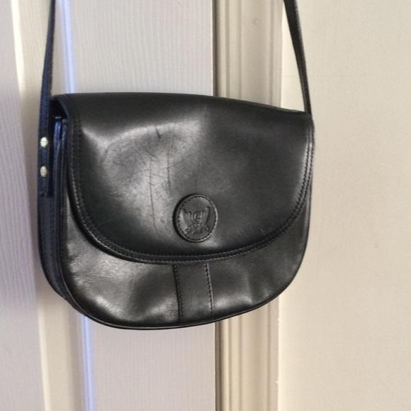 Liz Clayborne Handbags - Crossbody leather  bag.  By Liz clayborne