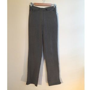 VINTAGE// gray trousers