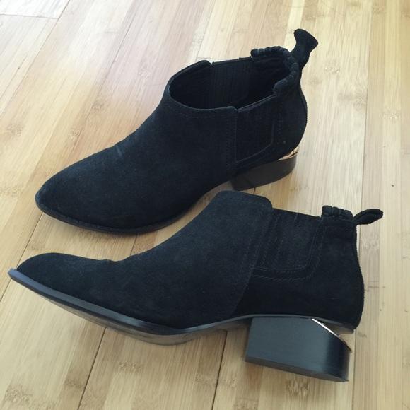Kori Cutout Suede Ankle Boots - Black Alexander Wang vxxvyN1fy