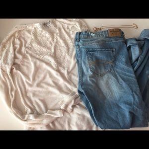 Abercrombie & Fitch Denim - NWOT Abercrombie skinny jeans