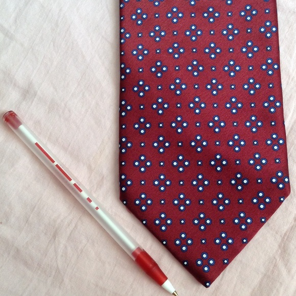 Stefano Ricci Other - STEFANO RICCI Italian Luxury Designer Silk Red Tie