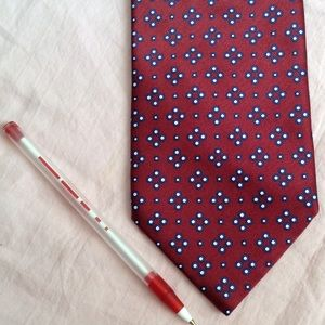 Stefano Ricci Accessories - STEFANO RICCI Italian Luxury Designer Silk Red Tie
