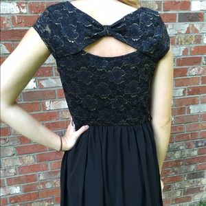 4a900b8b20c Dresses   Skirts - Black dress with gold detail